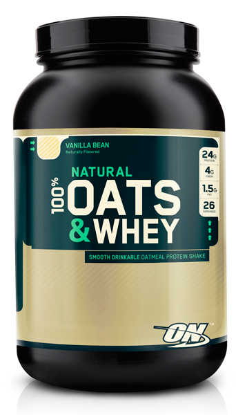 Optimum Nutrition ON 100% Natural Oats & Whey 3lb
