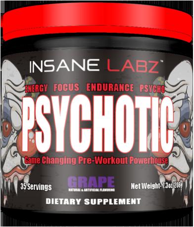 Insane Labz Psychotic (психоделический предтрен) 205г