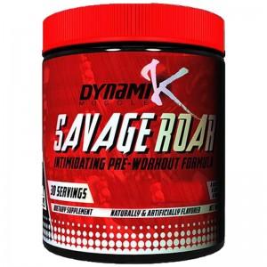 Dynamik Muscle SAVAGE ROAR предтрен от Кай Грина 315г (30порций)
