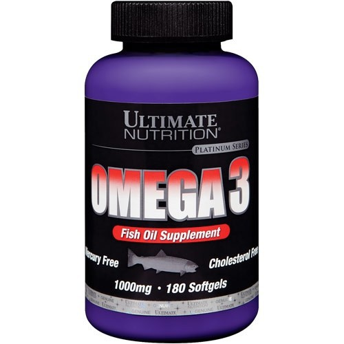 Ultimate Nutrition Omega-3 (180капс)
