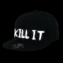 LOVE IT KILL IT - 5% - HAT BLACK WITH WHITE #HT06