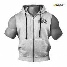 Throwback Zip Hood, Grey Melange art.220817-940