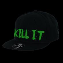 LOVE IT KILL IT - 5% - HAT BLACK WITH GREEN #HT05