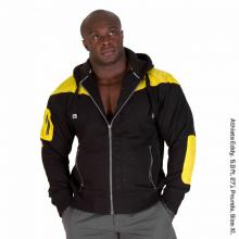 Disturbed Jacket Black/Yellow