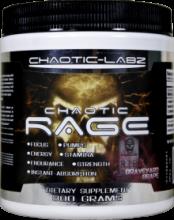 Chaotic Labz Chaotic Rage Мощный Взрывной предтрен 300г (50 порций)