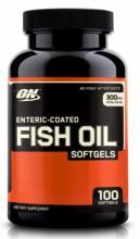 Optimum Nutrition Enteric Coated Fish Oil Softgels