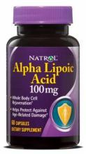 Natrol Alpha Lipoic Acid 100мг (60капс.)