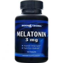 Body Strong Melatonin 3 мг (180таб.)