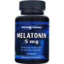 Body Strong Melatonin 5 мг (180таб.)