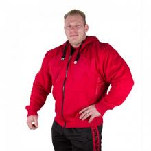 Logo Hooded Jacket Tango Red