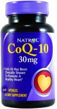 Natrol CoQ-10 30 мг (60капс.)