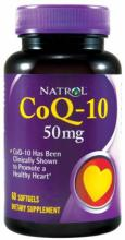 Natrol CoQ-10 50 mg softgels (30капс.)