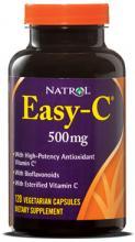 Natrol Easy-C Regenerating Complex 500mg (120капс.)