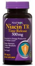 Natrol Niacin 500 mg Time Release (100таб.)