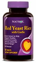 Natrol Red Yeast Rice with Garlic (60таб.)